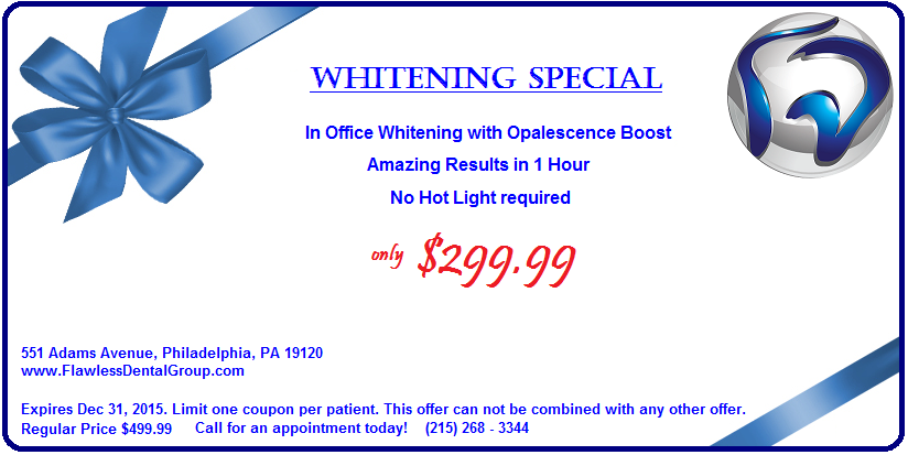 Whitening Special Offer